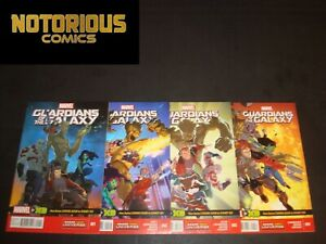 All New Guardians of the Galaxy 1 2 3 4 5 Complete Comic Lot Set EXCELSIOR BIN