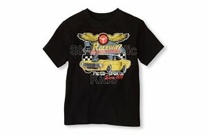 SFK Children's Place Race Car Graphic Tee