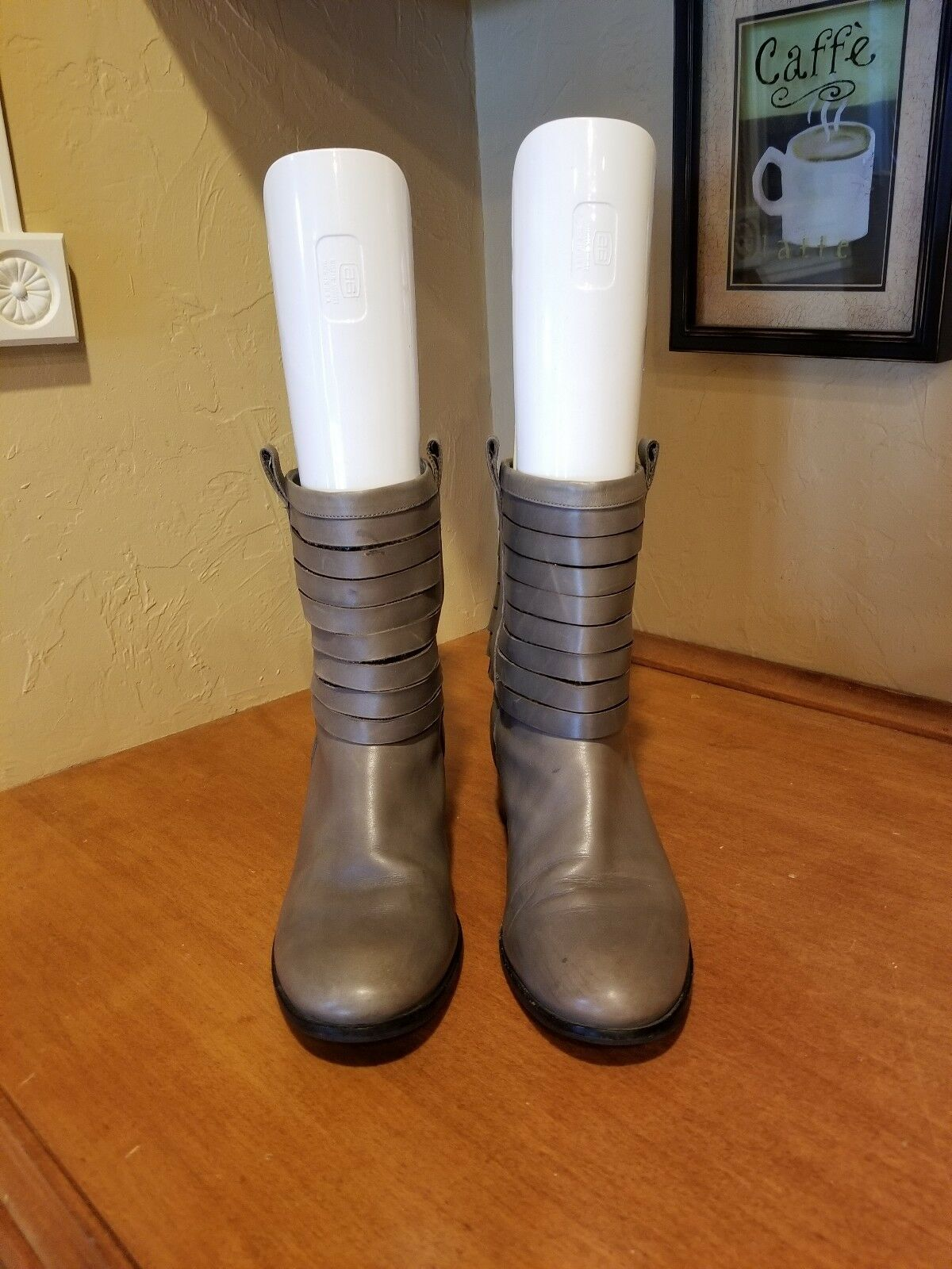 Cole Haan Leather Ankle Boots Size 8
