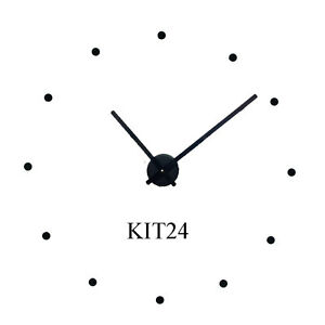 Make Large 24 Quot Wall Clock W Hands Motor Cover Amp Dots Kit24