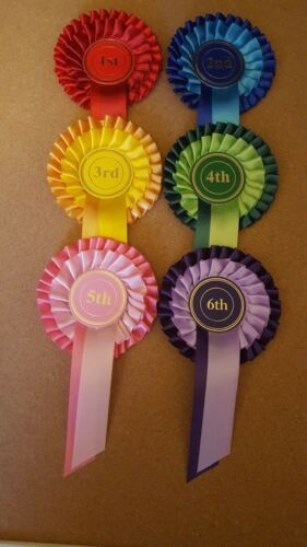 1st to 6th. 2 tier. for dogs,horse,pony,cattle shows, sport days and other event