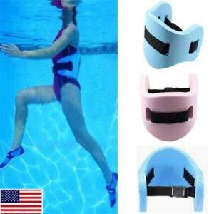 US-Adult-Swimming-Safety-Waistband-Waist-Training-Float-Plate-Floatation-Belt