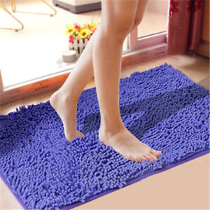 40-60cm-Chenille-Bathroom-Carpet-Mat-Bedroom-Floor-Mat-Rug-Anti-slip-Doormat-Rug