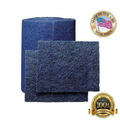 """10/""""x 10/""""x 1/"""" 6-Pack AC Furnace Air Filter Rigid Washable Cut to Fit"""