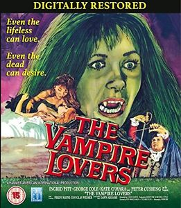 THE VAMPIRE LOVERS  REMASTERED       BLU RAY    UK   NEWSEALED - <span itemprop=availableAtOrFrom>Bolton, United Kingdom</span> - THE VAMPIRE LOVERS  REMASTERED       BLU RAY    UK   NEWSEALED - Bolton, United Kingdom