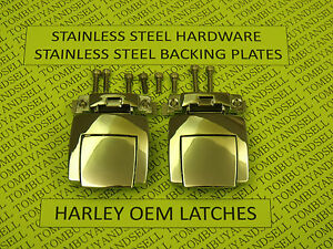 OEM-for-HARLEY-DAVIDSON-TOUR-PACK-LATCHES-CLASSIC-ELECTRA-GLIDE-ULTRA-PAK-PAC-HD