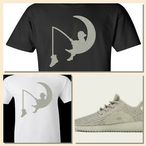 """COP/'EM CUSTOMS EXCLUSIVE TEE SHIRT TO MATCH BOOST 350 LOW MOONROCKS-/""""DREAMBOOST/"""""""