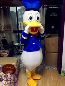 Donald /& Daisy Mascot Costume Birthday Party Game Dress Adult Size Cosplay Suits