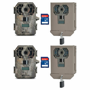 10MP Scouting Game Trail Camera Cam Infrared AA Stealth Cam STC-QS12 2 Pack