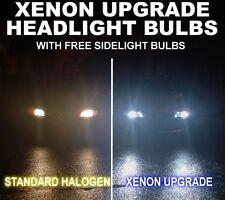Xenon Upgrade FOG Light Lamp Bulbs H3 with Wire 55w & 501 Capless Bulbs