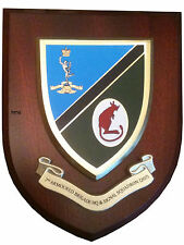 7th Armoured Brigade HQ & Signal 207 Wall Plaque UK Hand Made for MOD Regimental