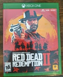 XBOX ONE RED DEAD REDEMPTION II (2 DISCS) COMPLETE CIB