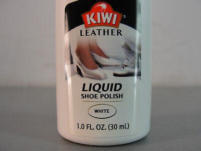 KIWI WHITE LIQUID LEATHER SHOE POLISH