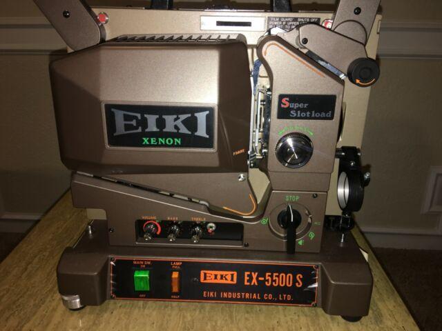 EIKI 16mm Xenon Sound Projector Ex-5500 S Ex-5500s