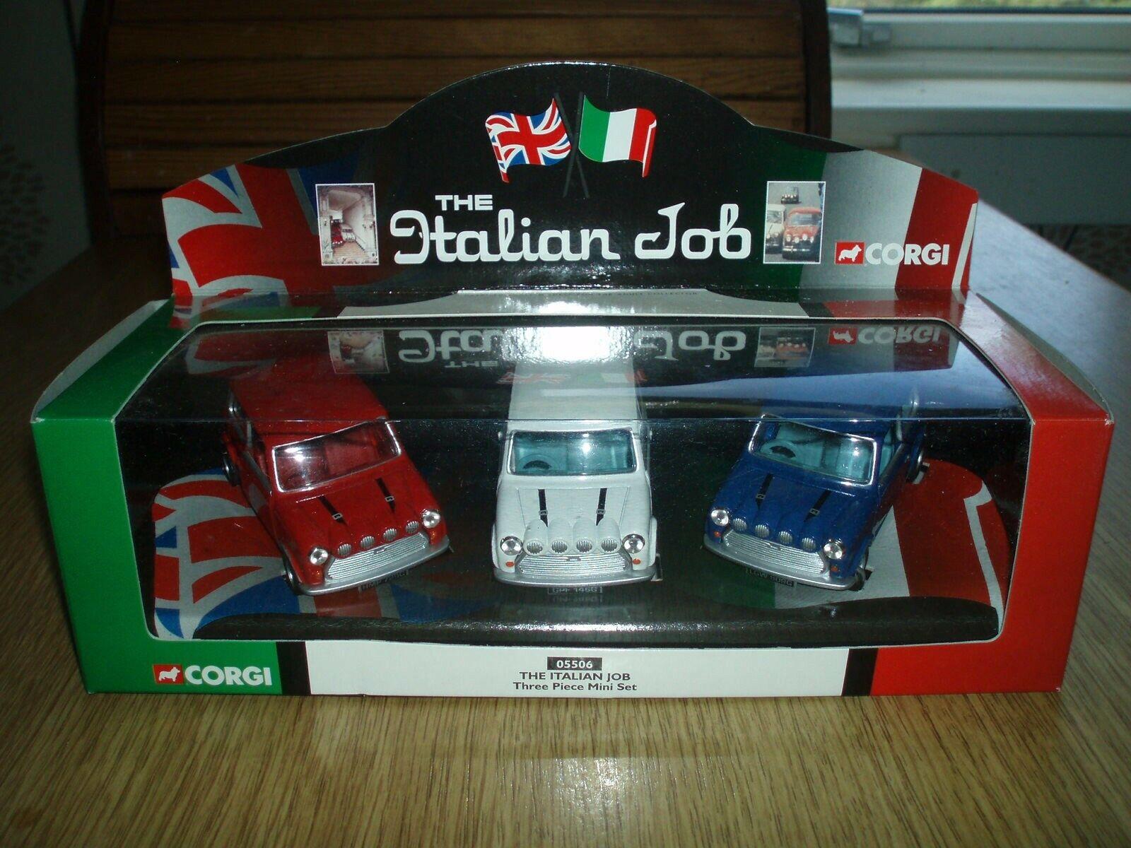 The Italian Job  3 Mini set new, never been completely out box.Corgi classic
