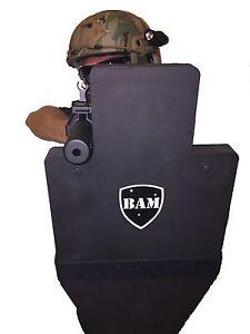 ballistic shield bullet proof body armor level iii l3 12x23