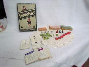 Vintage-Monopoly-Game-Pieces-in-Original-Box-No-Board
