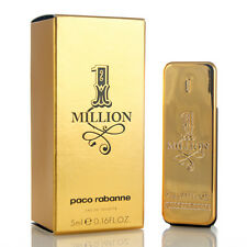Miniature 1 MILLION by PACO RABANNE EDT 5ml /0.17oz Mini Splash Collectible Perf