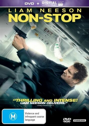 1 of 1 - Non-Stop (DVD + UV, 2014) R4 PAL NEW FREE POST