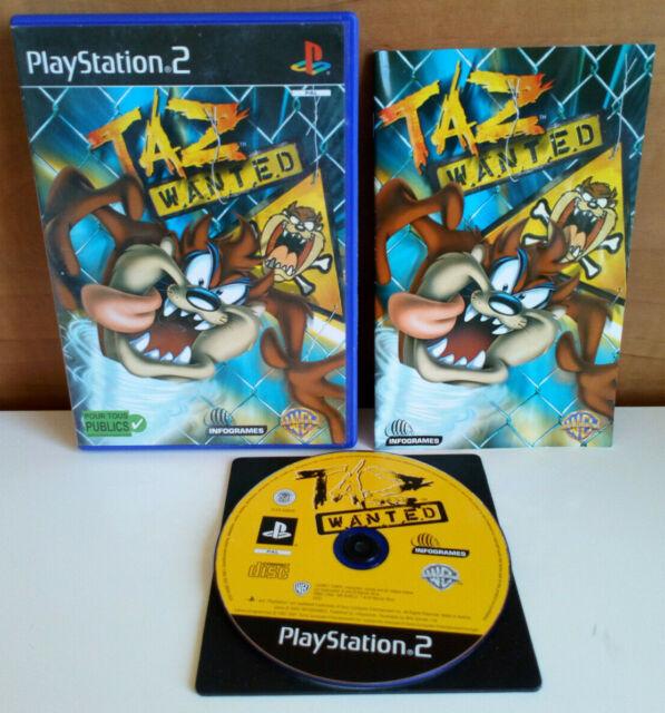 Taz Wanted  PS2 / PAL FR
