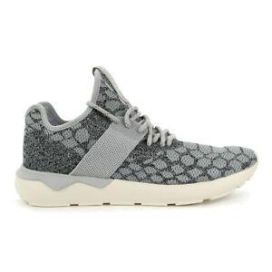 Adidas Men's Tubular Runner Primeknit Stone/Vintage White Shoes B25571 NEW