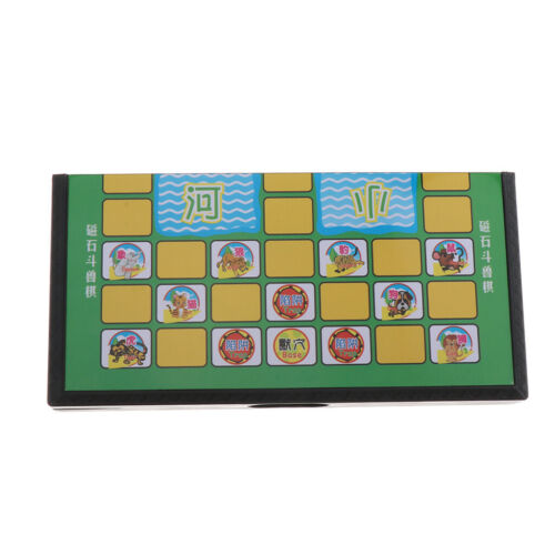 Magnetic Jungle Animal Chess Board Game Folding Chessboard Kid Game Toy Gift