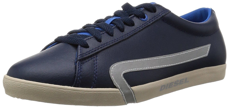 Uomo Casual Shoes Diesel Bikkren Pelle Fashion  Blue Iris P1053 H6039