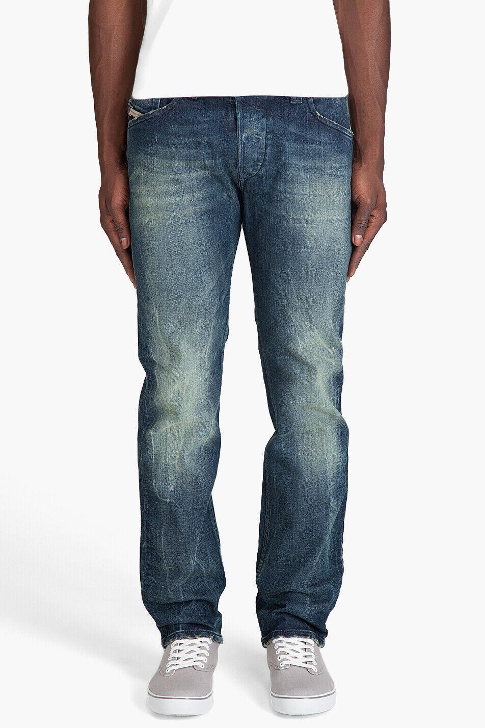 New Diesel Darron 8M9_Stretch Regular Slim Tapered Leg Jeans 28 32 NWT
