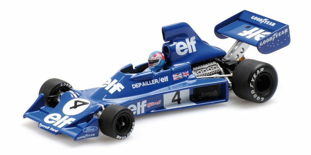 Tyrrell ford 007 p. Depailler 1975 1 43 MODEL 400750004 MINICHAMPS