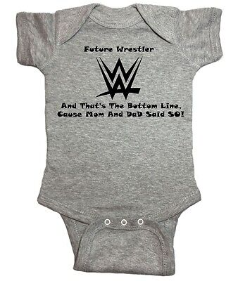 NorthStarTees WWE Baby One Piece Do You Smell What My Diaper is Cooking?