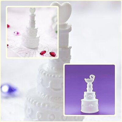 Seifenblasen  als Hochzeitstorte mit Schwan oder Herz Deckel Hochzeit  Deko