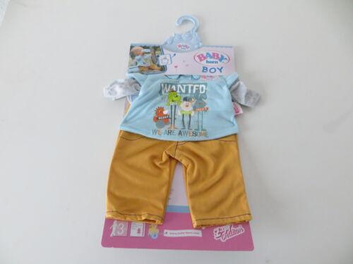 Puppen & Zubehör Baby Born Jungs Kollektion A von Zapf Creation für bis zu 43cm Puppen