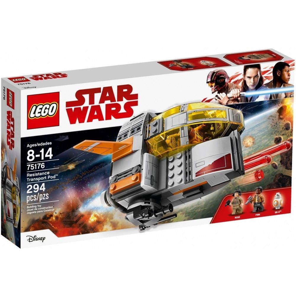 LEGO Star Wars The Last Jedi 75176 Resistance Transport Pod