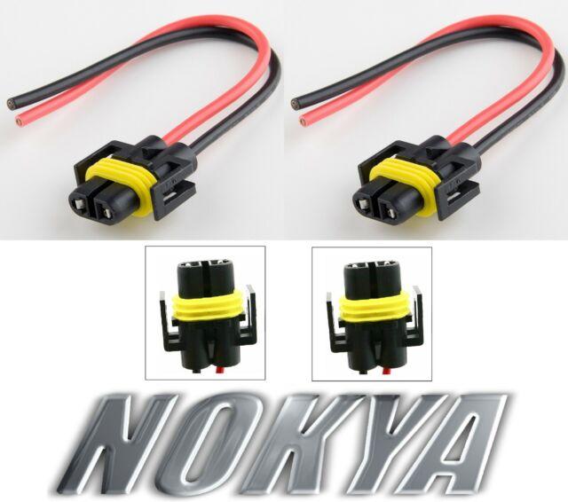 Nokya Wire Harness Pigtail Female H11 Nok9108 Fog Light Bulb Connector Lamp Fix