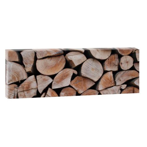 Bilder Leinwand Keilrahmen Modern Design XXL 150 cm* 50 cm  Holz Natur 466