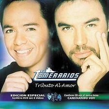 Los Temerarios Tributo Al Amor CD