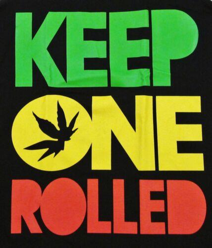 Wiz Khalifa KEEP ONE ROLLED Tank Top Tee Marijuana Rap Adult S,M,L,XL,2XL New