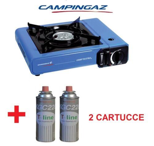 MARCA CAMPINGAZ Fornello da Campeggio a Gas con 2 Bombolette Catering Portatile