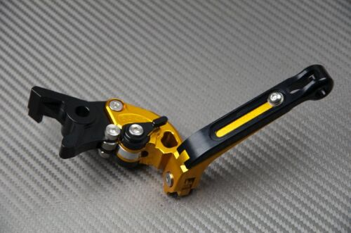 Levier levers flip-up foldable repliable Gold Or Honda CBR 1000 F CBR 1000F  98