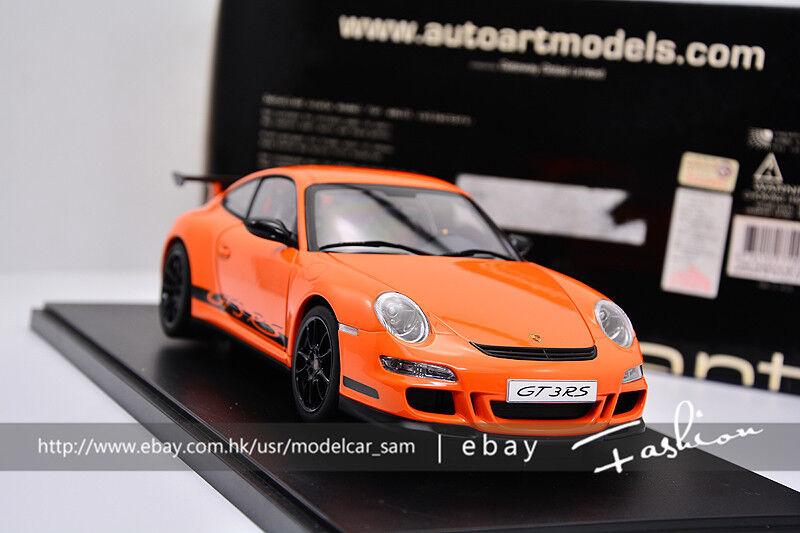Autoart 1 18 Porsche 911 997 GT3RS Orange