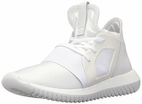 adidas Womens Tubular Defiant Casual Shoes Core WhiteCore WhiteBlack S75250