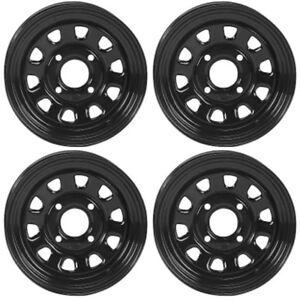 4-ATV-UTV-Wheels-Set-14in-ITP-Delta-Steel-Black-4-110-5-2-IRS