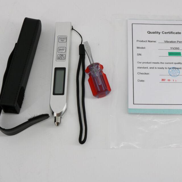 Yv260 Digital Pen Vibration Meter Testing Equipment 10hz 500hz Accelerometer