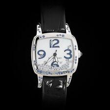 "Jean Richard Milady ""Water"" High Jewelry Ladies' Watch. Sapphire & Diamond. Rare"