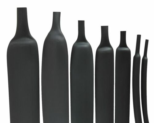 Size Please Select 1m Heat Shrink Tube 2:1 Black From 1mm To 100mm Dm