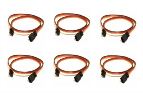 26AWG Wire Cable Connector 6 Pack JR DJI S900 10CM Servo Lead Extention