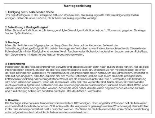 OPEL KARL SparSet Ladekantenschutz Lackschutzfolie Schutzfolie Carbon 10150-2060