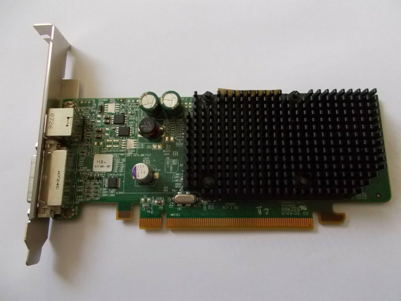ATI Radeon X1300 128MB Low Profile Pci-E Graphics Card, #SU196