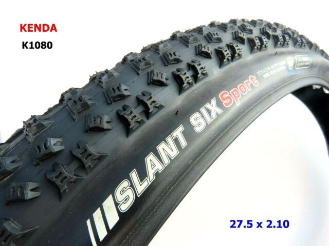 """Kenda K1080 Slant Six 6 Sport 650B 27.5/"""" x 2.1 WIRE Bead MTB Bike Tire Tomac"""