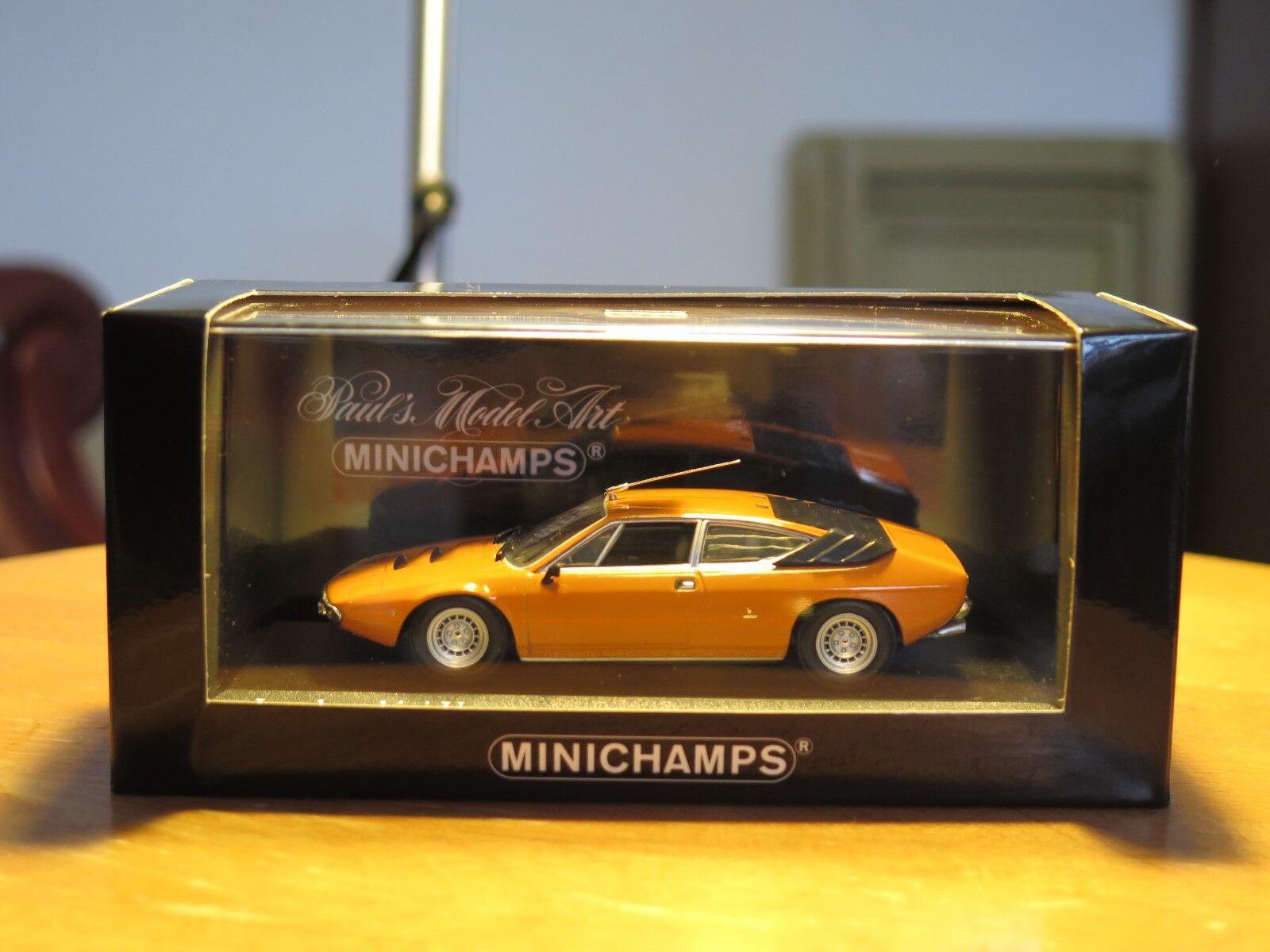 1974 Lamborghini Urraco  Orange minichamps